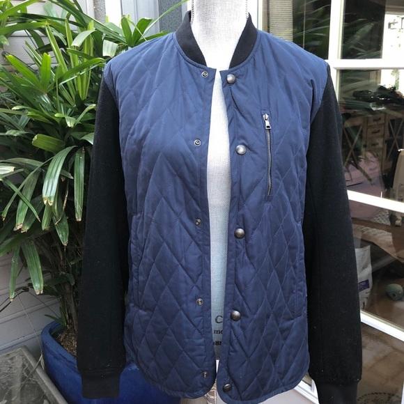 Vince Quilted Varsity Jacket Poshmark